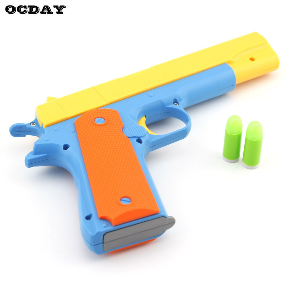 Toy Swords And Guns : Simulation of soft bullet toy guns for children weapons