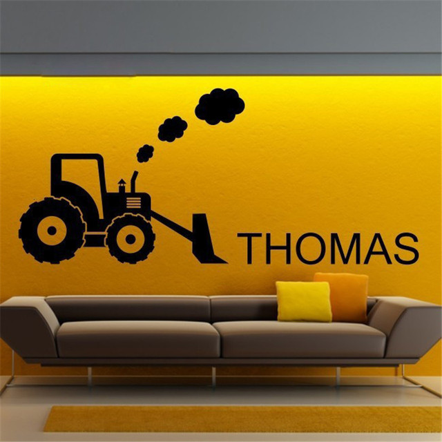ZN T07060 Eco friendly Vinyl wall art Personalised Wall decor Kids ...