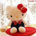 Fancytrader Limited Edition! 1 pc 22'' / 55cm Lovely Stuffed Big Plush Hello Kitty, 2 Models Available, Free Shipping FT50487