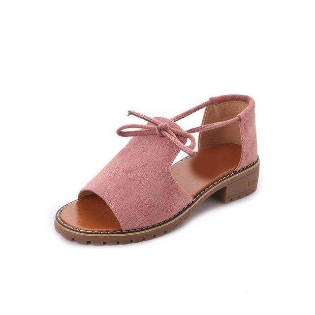 Areqw/2018; новые брендовые босоножки на толстом каблуке женская летняя обувь с открытым носком с пряжкой в римском стиле Обувь одноцветное Цвет на низком каблуке женские босоножки