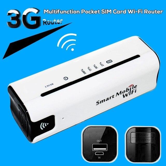 Новый 3 Г Мобильный Портативный Многофункциональный Мини Беспроводной Power Bank Battary Зарядное Устройство 3 Г Wi-Fi Маршрутизатор