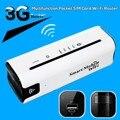 Nova 3G Móvel Portátil Multifuncional Mini Battary Carregador Sem Fio Power Bank 3G WiFi Router