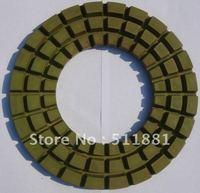 9 Concrete Marble Granite Dry Polishing Pad 230mm Diamond Resin Pad For Dry Polishing