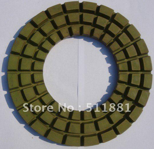 9'' concrete marble granite dry polishing pad | 230mm diamond resin pad for dry polishing