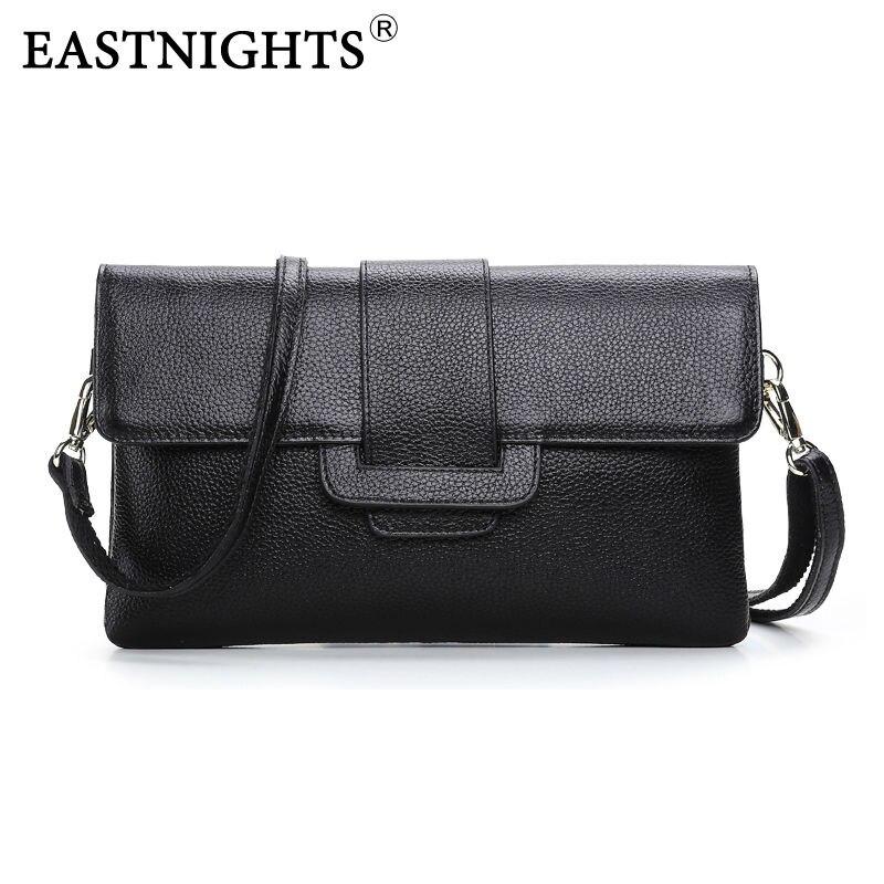 EASTNIGHTS 2016 Handbag Fashion Genuine Leather Women Shoulder Bag Messenger bag Ladies Crossbody Bag Bolsas Femininas TW890 shoulder bag
