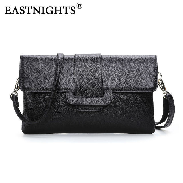 EASTNIGHTS 2017 Handbag Fashion Genuine Leather Women Shoulder Bag Messenger bag Ladies Crossbody Bag Bolsas Femininas TW890