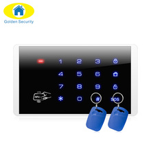 K16 Wireless RFID Touch Keyboard For PSTN GSM Home Personal House Alarm Systems security home Wireless Password Keypad system