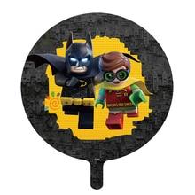 18 inç 2 adet Legoings folyo balon oyunu balon çocuklar doğum günü partisi süslemeleri Globos oyuncaklar çocuklar için