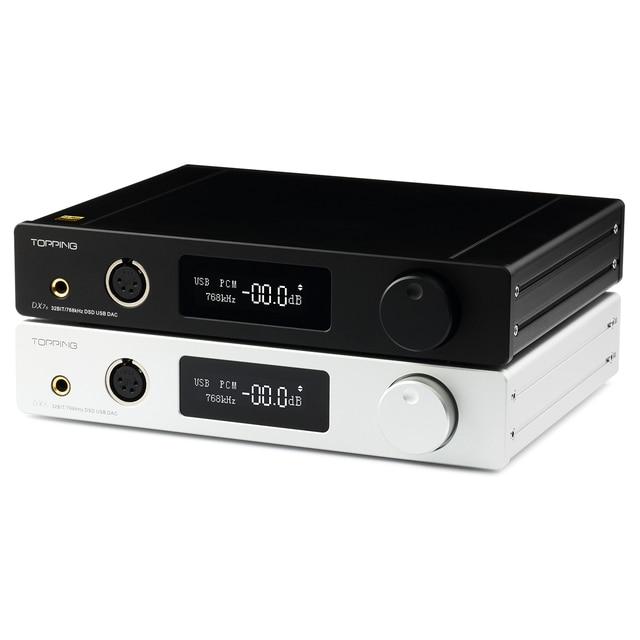 Topping DX7S 2*ES9038Q2M 32Bit/768K DSD512 DSD USB Full Balanced DAC Headphone Amplifier 4