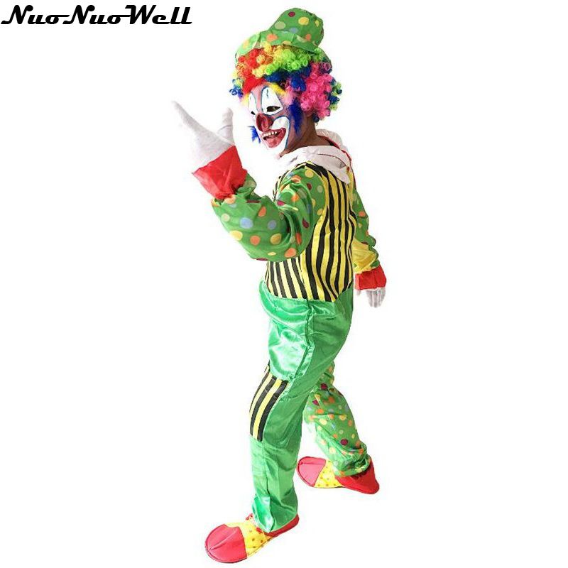 Hot Sale Europe Carnival Masquerade Cosplay Costume Free Shipping Adult Clown Costume Halloween Holiday Variety Clown Clothing