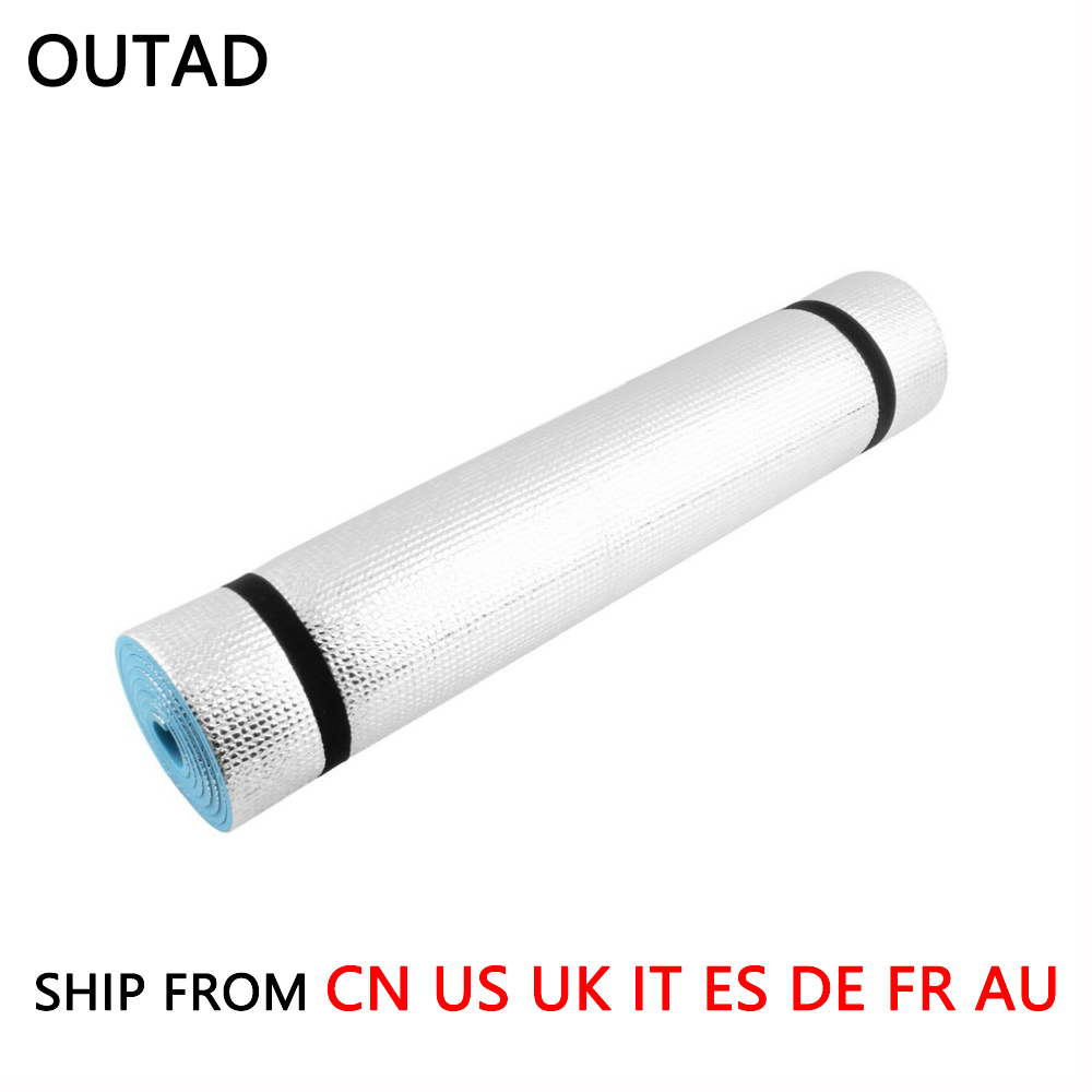 (Ship From 8 Countries) 6mm Non-Slip Gym Exercise Fitness Yoga Mat Pad Body Building Home Indoor Lose Weight Yoga Mat