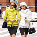 2017 Promotion Rushed Long Sleeve Down Coat Female Fashion Stand Collar A Slim Solid Color Casual Winter White Duck Outerwear