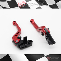 CNC Short Adjustable Brake Clutch Lever For Kawasaki Zx6r Zx636r ZX6RR 2007 2008 2009 2010 2011