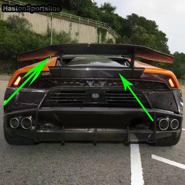 Us 1084 34 21 Off Lp610 Modified Dmc Style Carbon Fiber Rear Trunk Lip Spoiler Car Wing For Lamborghini Huracan Lp610 2015 2016 2017 2018 In