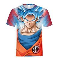 Anime Dragon Ball Goku 3d T shirts Family T Shirt Mommy And Me Cloth Sister Customized Photo Printed Tee Shirt For Family