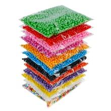 Colorful Coffee No Bleeding Polystyrene Styrofoam Beads For Slime Color Foam Balls Decorative Ball DIY Craft Supplies 7-9mm