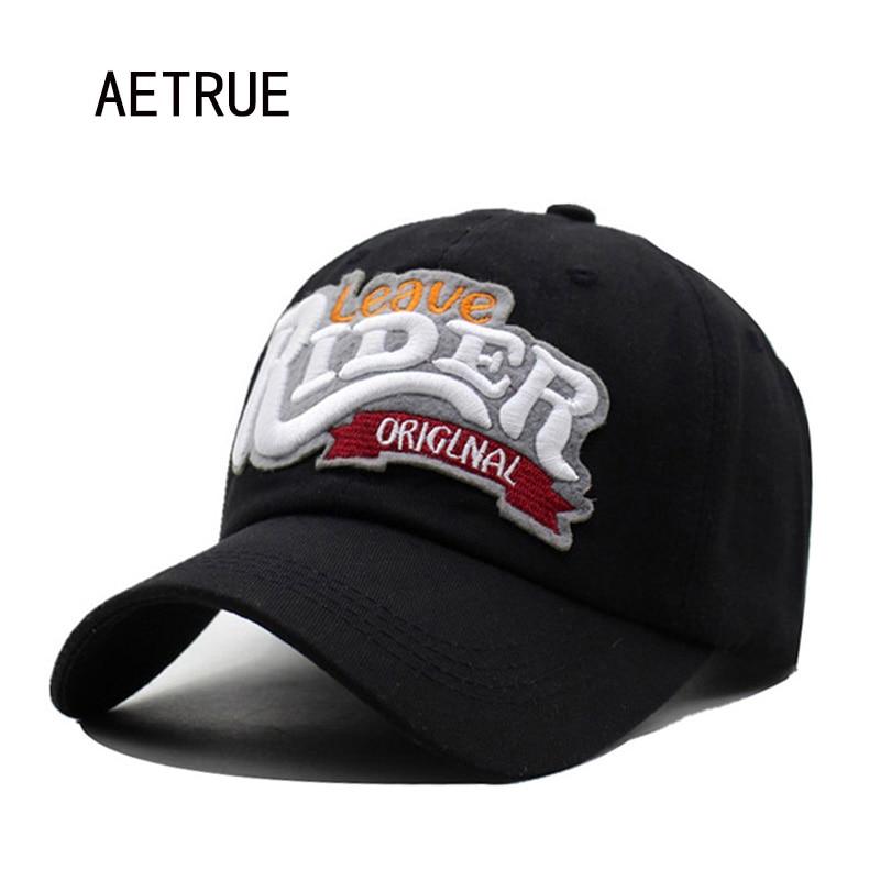 AETRUE 2017 Brand Women Baseball Caps Hats For Men Snapback Cap Bone Hip hop Casquette Rider Homme Sun Hat Gorras Cotton Caps