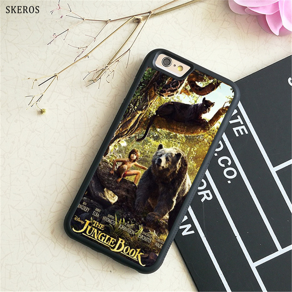 SKEROS The Jungle Book 9 (2) phone case for iphone X 4 4s 5 5s 6 6s 7 8 6 plus 6s plus 7 ...