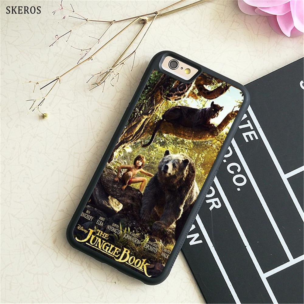 SKEROS The Jungle Book 9 (2) phone case for iphone X 4 4s 5 5s 6 6s 7 8 6 plus 6s plus 7 ...