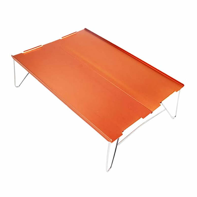 Image 2 - xiu Mini Small Aluminum Camping Picnic Outdoor Hiking Table One and Two People-in Outdoor Tables from Furniture