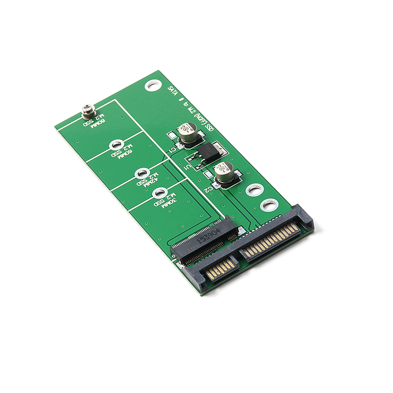 NGFF ( M2 ) B Key & B+M Key SATA Based SSD To 2.5