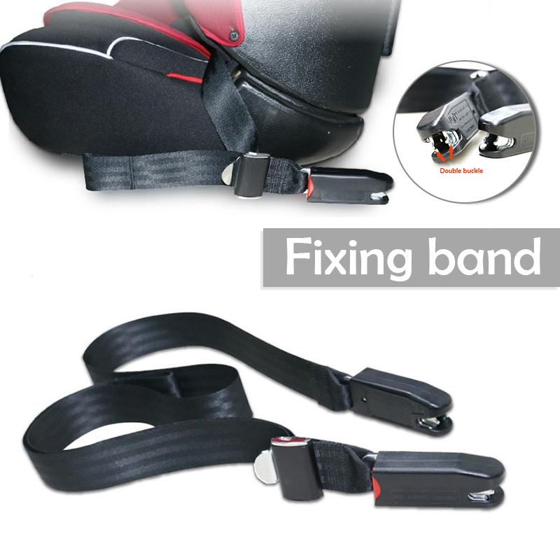 EU Plug Universal Children Soft Connecting Band Safety Seat Belt & Padding With Isofix Connector