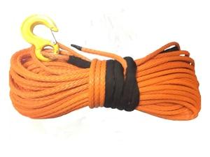 Image 2 - 12mm x 30m sentetik vinç Hattı kablo halat ile kanca (ATV UTV 4X4 4WD KAPALı  ROAD)