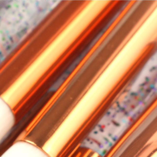 MAANGE 15 pcs Diamond Makeup Brushes Professional Makeup Brush Set Classic Black Make Up Foundation Eyebrow Brush Kit Tools