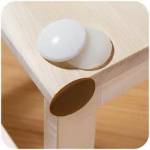 1Pcs Silicone Door Handle Table Corner Protector Gards Bumper Sticking Pads Noise Stopper Wall Anti Collision Mat