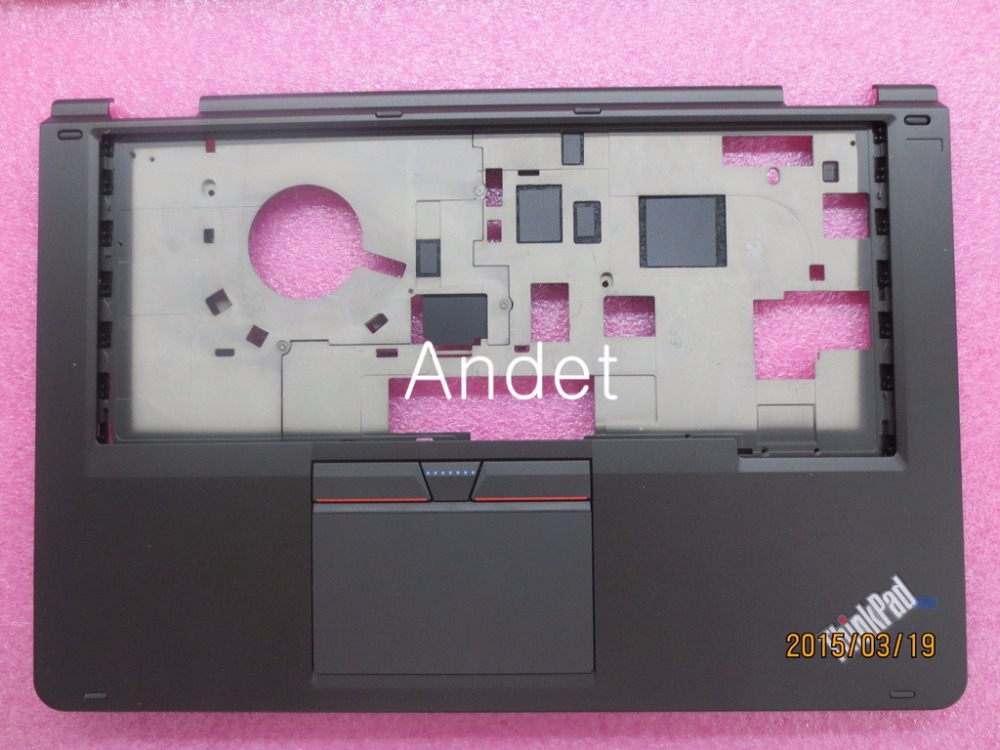 New Original for Lenovo ThinkPad Yoga 14 Palmrest Keyboard Bezel Upper Case Cover with Touchpad 3+2 W/O FPR Black 00HT614 new original for lenovo thinkpad l530 palmrest cover with touchpad fingerprint 15 6 keyboard bezel upper case 04x4617 04w3635