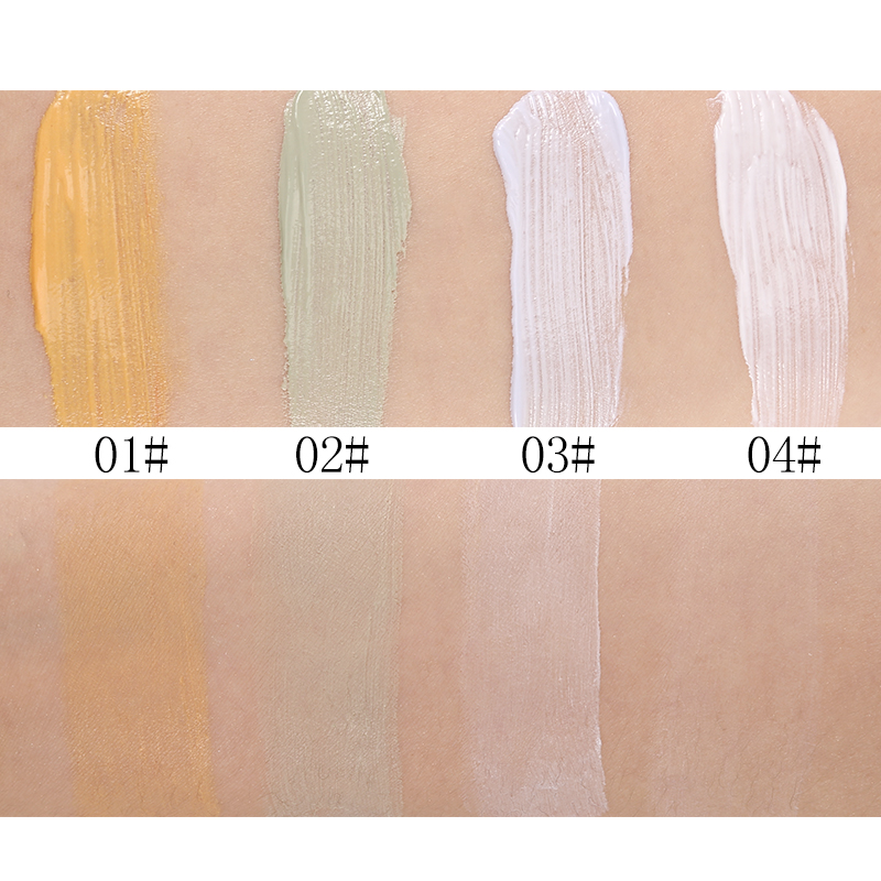 33g Menow 4 Colors Concealer Cream Smooth Multi-Effect Face Skin - Smink - Foto 5