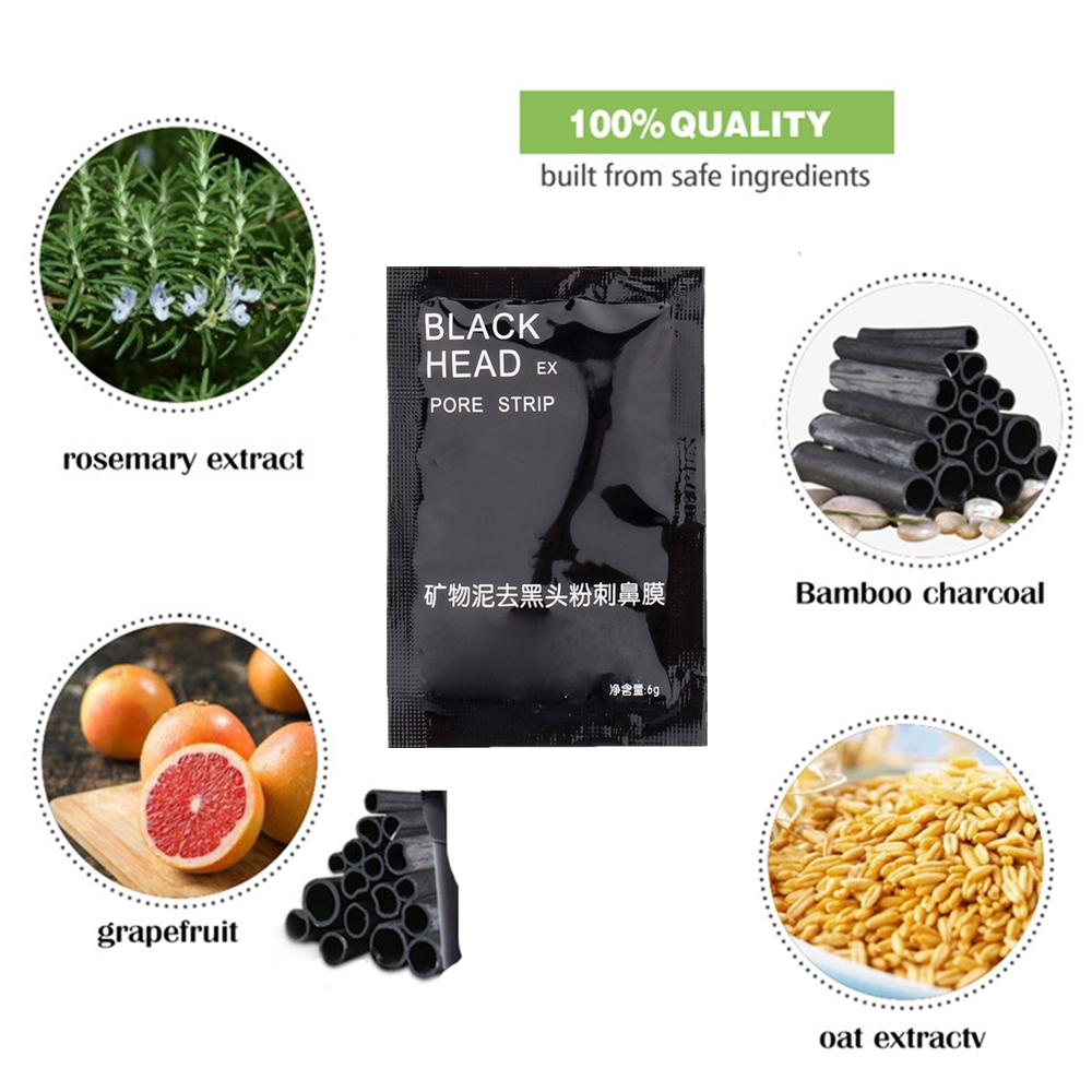 Face Mask Blackhead Remover Deep Cleansing Purifying Peel Off Acne Black Mud facial Black Mask Face Care Nose Acne Remover in Treatments Masks from Beauty Health