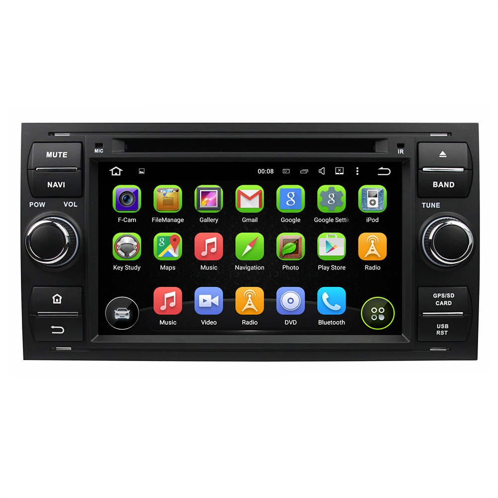 For Ford Focus Mondeo S-max C-MAX Galaxy Fusion Fiesta android 7.1.1 car dvd player gps navi autoradio 3G wifi obd2 dvr FREE MAP