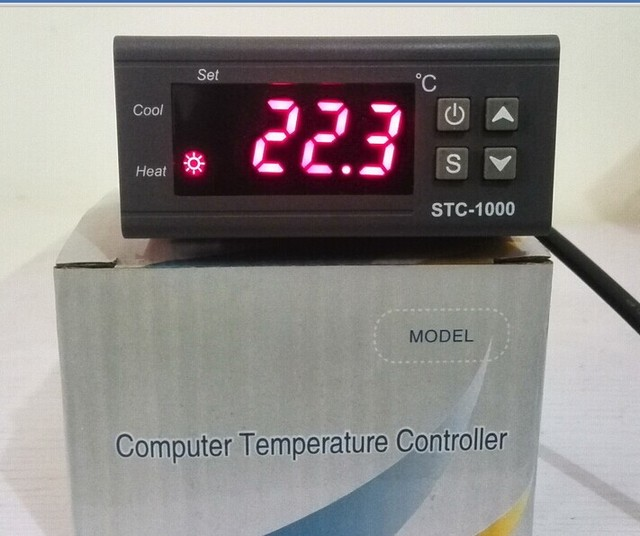 Seafood Machine Incubator Refrigeration Cold Hot Automatic Transformation on STC - 1000 Microcomputer Temperature Controller