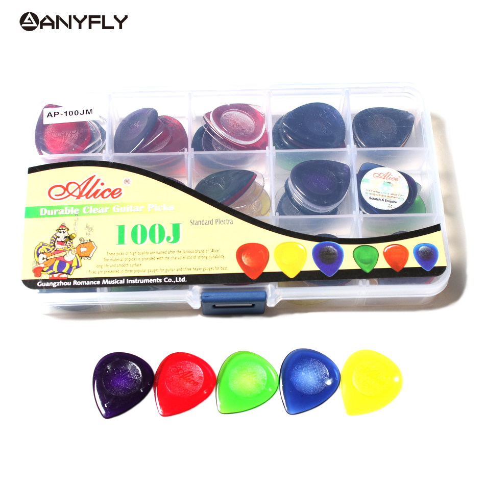 12Pcs/Lot Big Size 30mm*25mmThickness Alice Acoustic Electric Guitar Musical Instrument Pick Water Drop Free Shipping