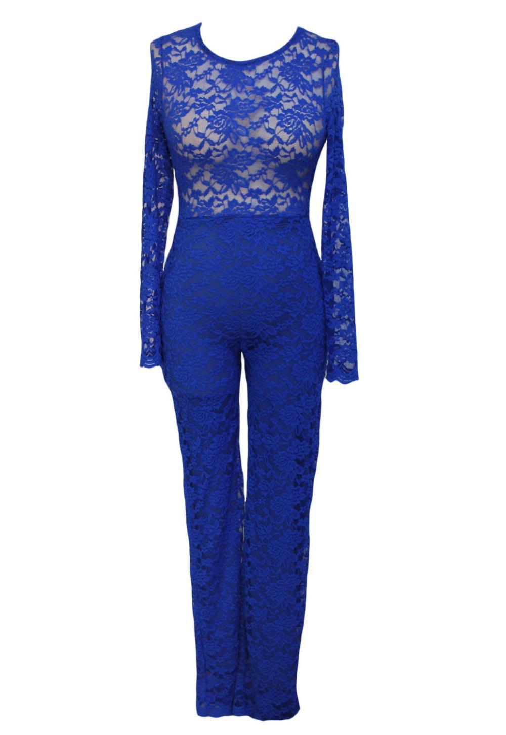 Aliexpress.com : Buy 2015 Fashion New Long Sleeve Jumpsuit Women ...