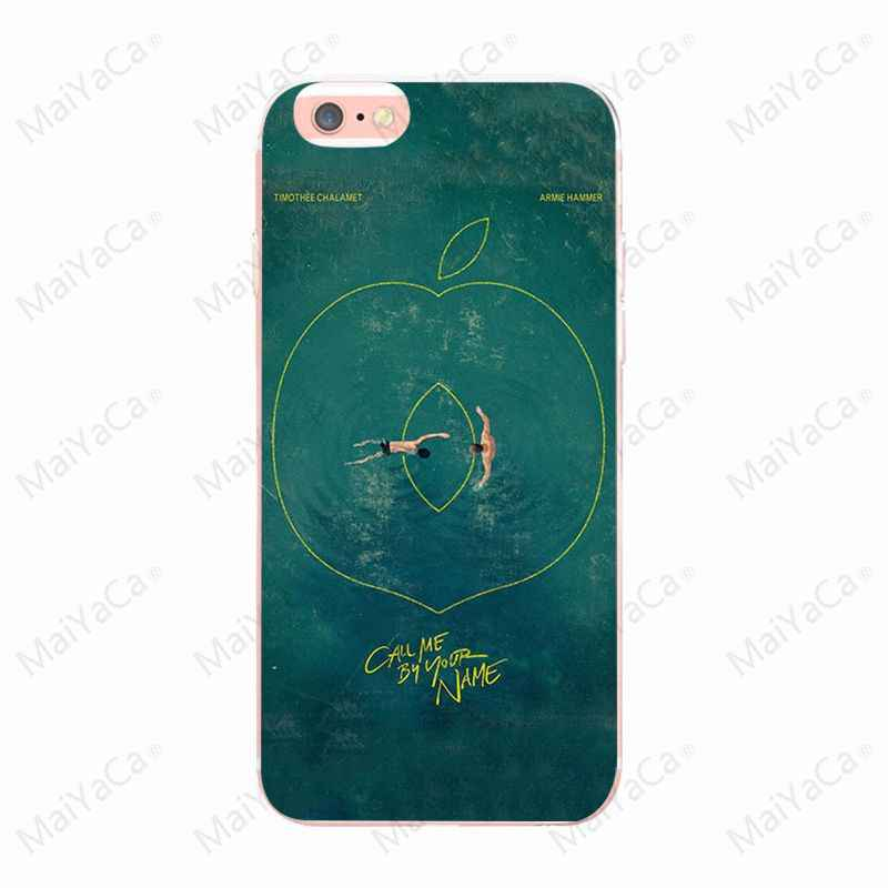MaiYaCa Please call me by your name tv hot For Apple iphone X For iphone 7 7 plus for iphone 8 8plus 6 6s plus And 5 5s SE case