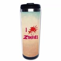I Love Zombies Rvs Mok Cup Dubbele Muur Reizen Thermos