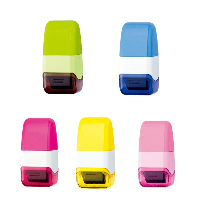 Durable Self Inking Identity Theft Protection Roller Stamp Perfect for Personal Information Privacy Seal in Stamps from Home Garden