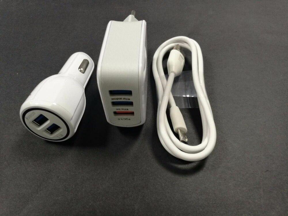 5A ЕС Путешествие стены адаптер 3 выход USB + кабель USB + Автомобильное зарядное устройство для <font><b>LG</b></font> G4 G4c G4s <font><b>V10</b></font> h818 H810 G4 мини H735 сотовом телефоне