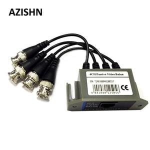 Image 1 - AZISHN 4CH HD Passive Video Balun Transceiver BNC A UTP RJ45 CCTV Via Torti Coppie per AHD TVI CVI Camera CCTV DVR Sistema