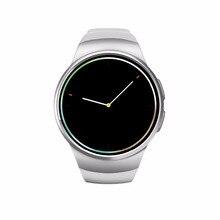 1.3นิ้วipsจอแอลซีดีรอบหน้าจอบลูทูธsmart watch androidโทรศัพท์relógio inteligente r elojสีขาวทองสีดำนาฬิกามาร์ทโฟน