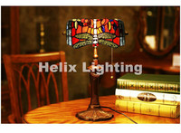 New Arrival Tiffany Table Lamp Luxurious Ancient Garden European Style LED E27 Bedside Lamps Living Room