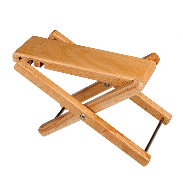 Wooden Guitar Foot Rest for Classic Flamenco