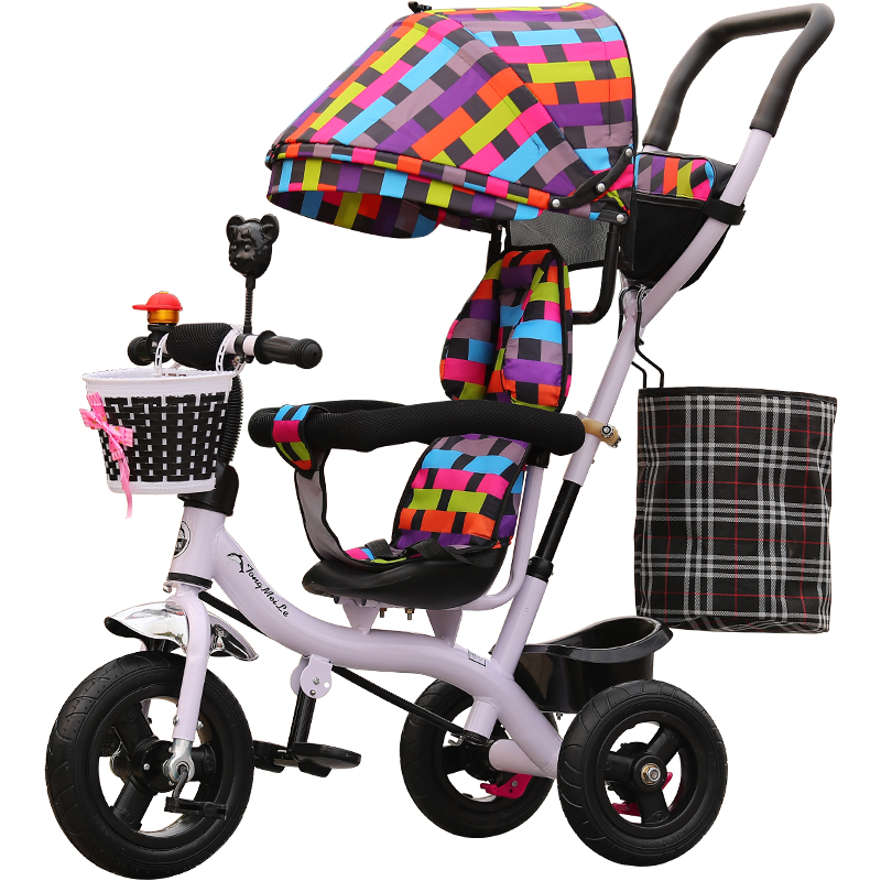 2 In 1 Baby Tricycle Stroller Three Wheels Stroller Baby Carriage Pram Toddler Child Tricycle Bicycle Jogging Stroller Buggies2 In 1 Baby Tricycle Stroller Three Wheels Stroller Baby Carriage Pram Toddler Child Tricycle Bicycle Jogging Stroller Buggies