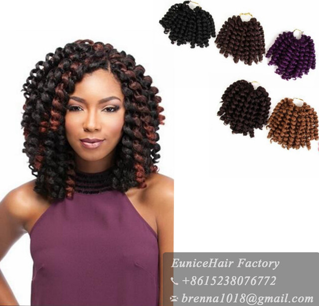 Pre Twisted Crochet Braids Precurled Textured Hair Havana Bounce