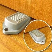 Резиновый дверной стоп-Стопперы безопасность защищает двери от хлопанья предотвращает повреждения пальцев