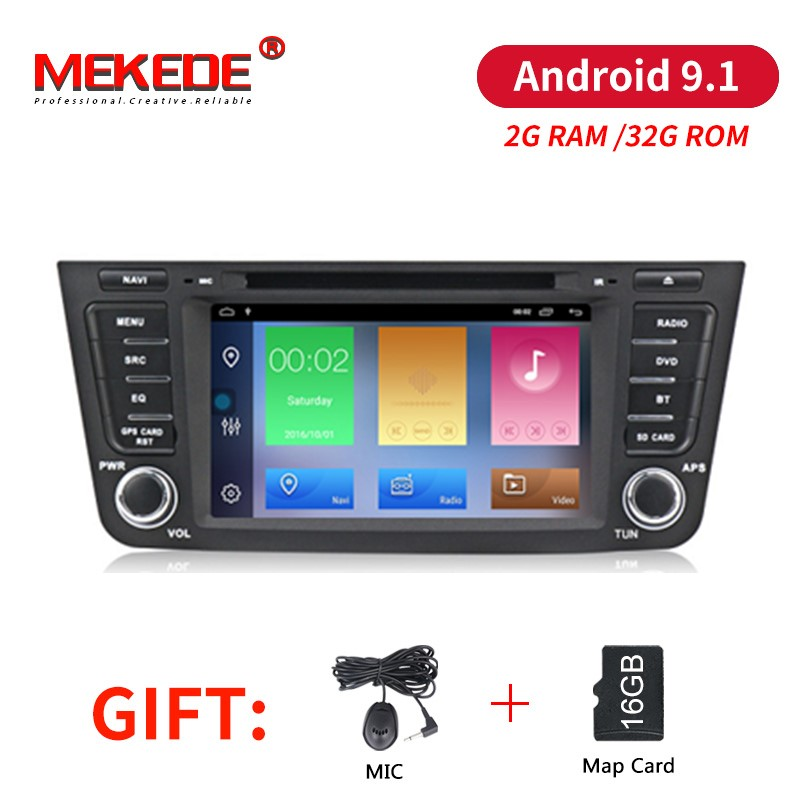 MEKEDE Android 9 1 2G RAM 32G ROM car dvd audio radio player for GEELY Emgrand