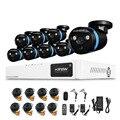 16CH HD DVR CCTV Home Security Sistema de Câmera 1080 P NVR 8 PCS Câmera 2.0MP IR Kit Sistemas De Alarme De Segurança de Vídeo Ao Ar Livre casa