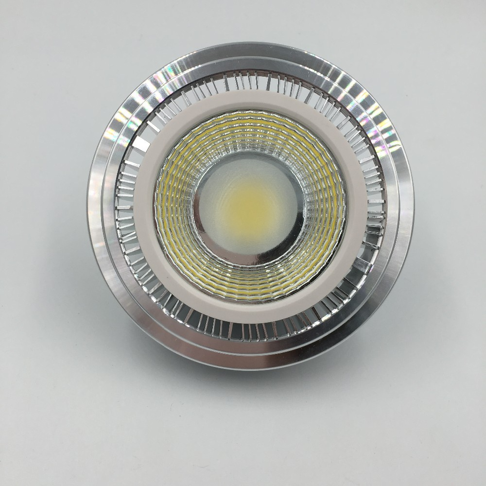 1pcs Free Shipping 7W 12V AR111 COB Lamp Replace to 50W Bulbs For Home Lighting G53 Spotlight  Led Bulb ar111 Led Light (3)